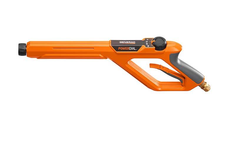 ERGONOMIC SPRAY GUN WITH POWERDIAL™