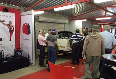 Bundu Power exhibits at NAMPO Harvest Day event