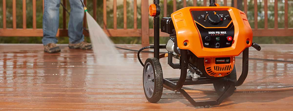 Generac Pressure Washer Products