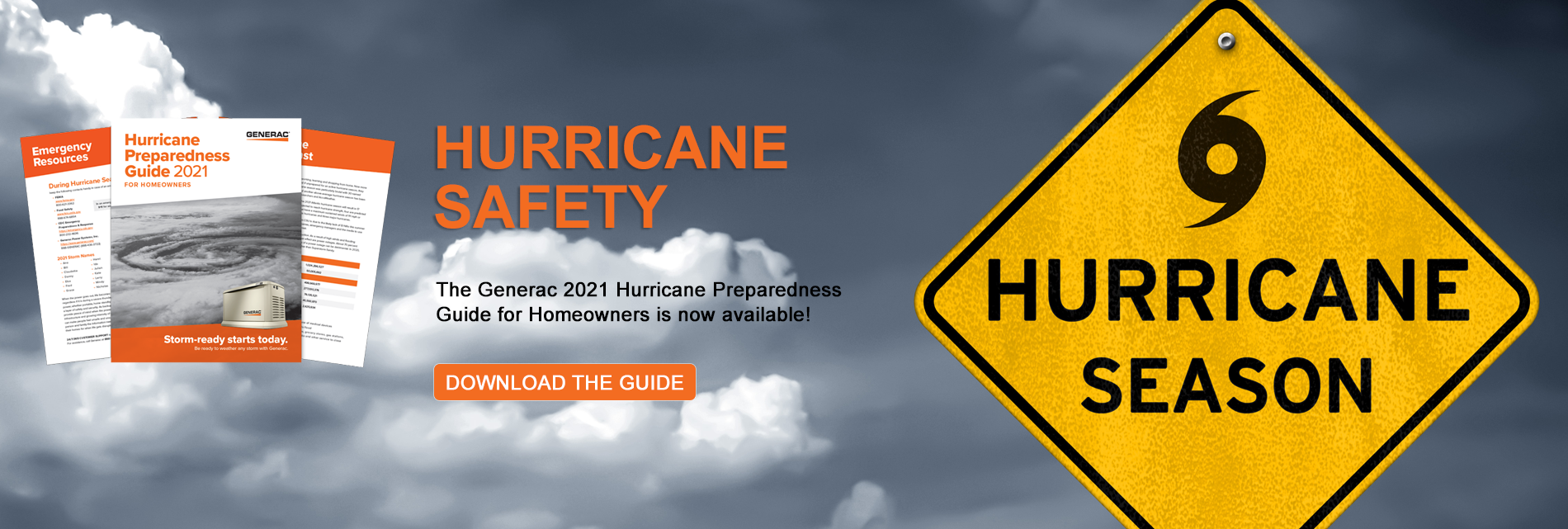 Hurricane Safety - Get the Hurricane Preparedness Guide