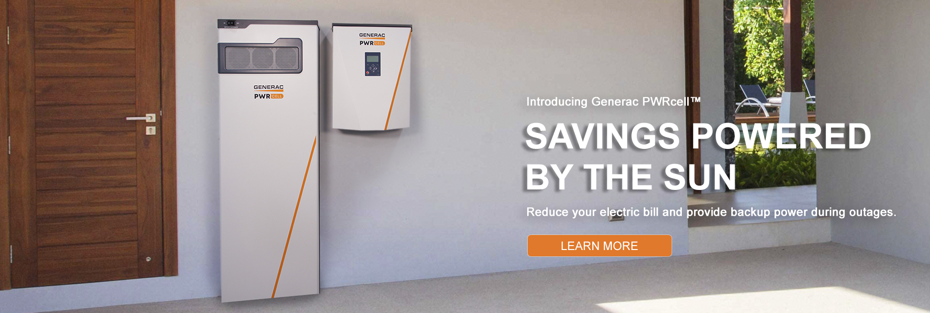 Generac PWRcell - Savings Powered by the Sun