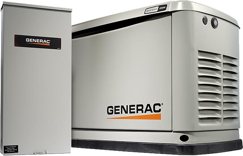 Generac Response Series Air-Cooled Automatic Generator