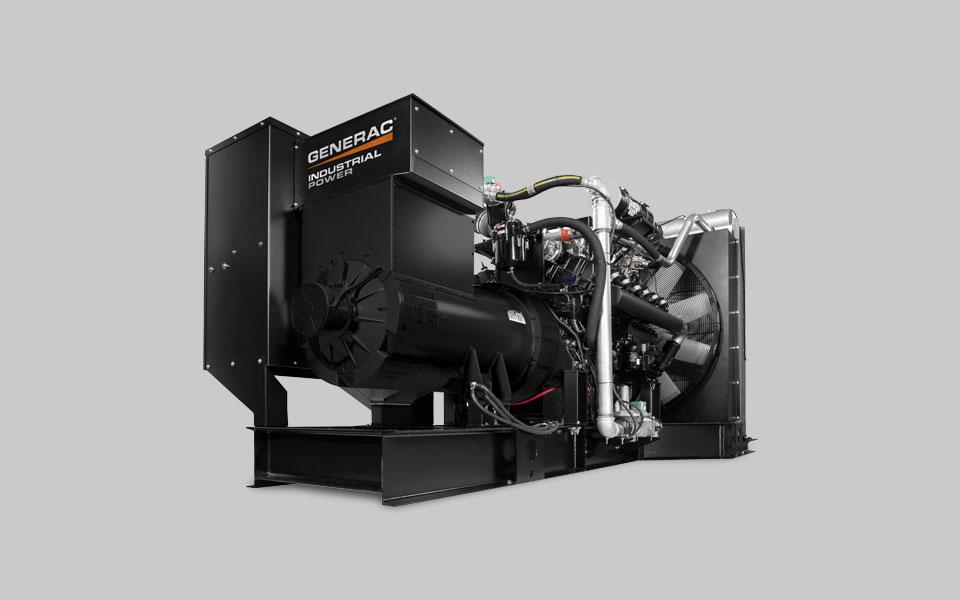 Generac Industrial Power Products Diesel Gaseous Bi Fuel