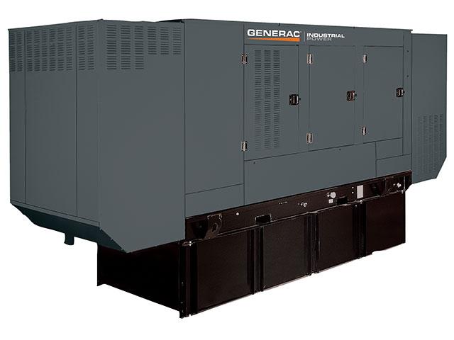 Generac industrial power 100kw diesel generator for Design home resources generator