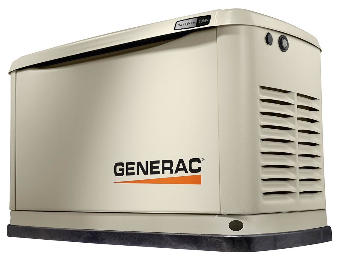 Generac Power Systems 13kw Guardian Series Home Generator 7173