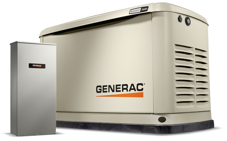generac home generator_guardian 16kw_200se_7037_hero?width=768&height=480&ext= generac power systems 16kw guardian series home generator with 4000 Watt Generac Generator Wiring at gsmportal.co