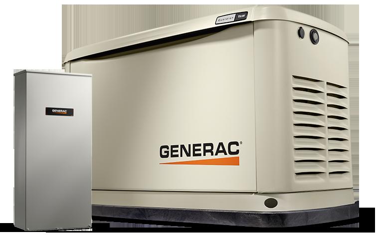 Generac Power Systems - 9kW Guardian Series Home Generator