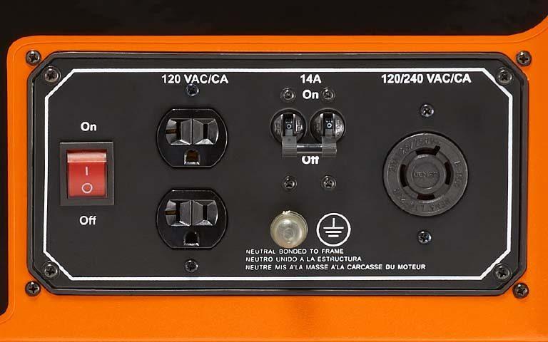 generac <strong>gp series 3250</strong> portable generator
