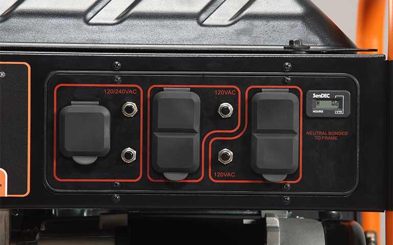 Generac Power Systems - 6500 watt GP Series Portable