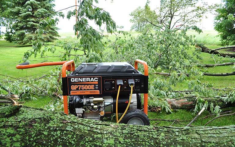 Generac Power Systems - 7500 watt GP Series Portable