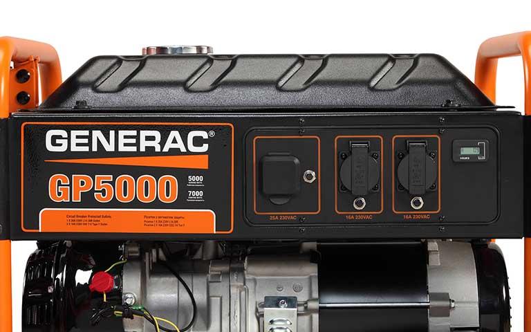 generac <strong>gp series 5000</strong> portable generator