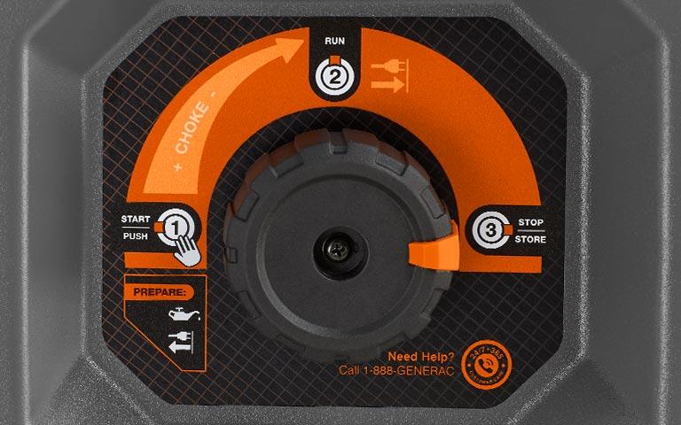 Generac Power Systems - 7000 watt RS Series Portable