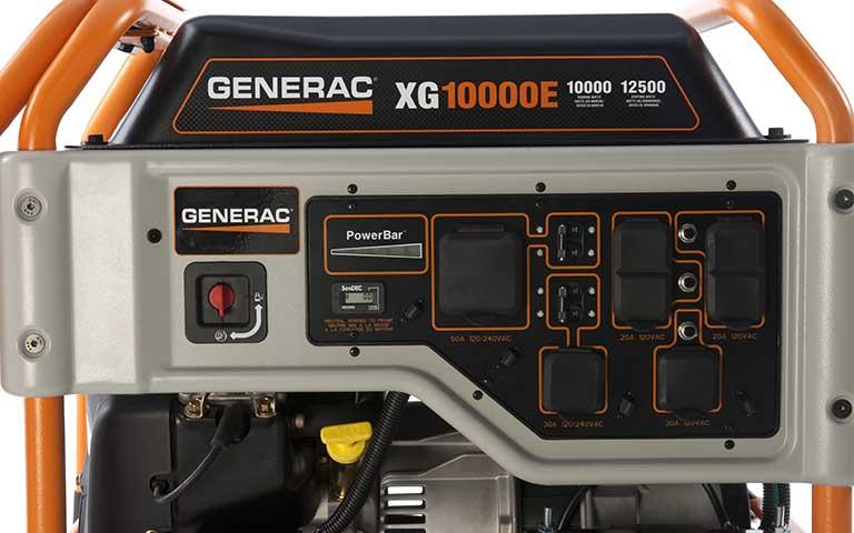 generac xg10000e portable control panel model 5802?width=768&height=480&ext= generac power systems 10000 watt xg series portable generator generac xg8000e wiring diagram at mifinder.co