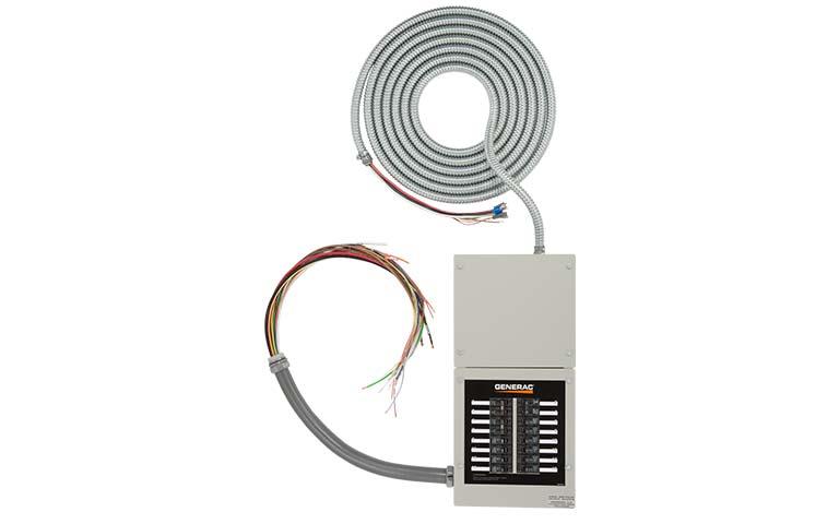 Generac 200 amp Transfer Switch Circuit Breakers