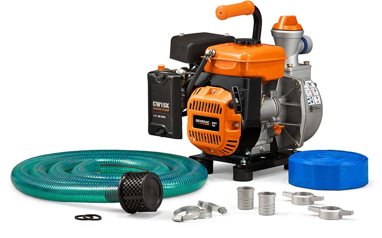 Generac Power Systems Pumps For Water Removal