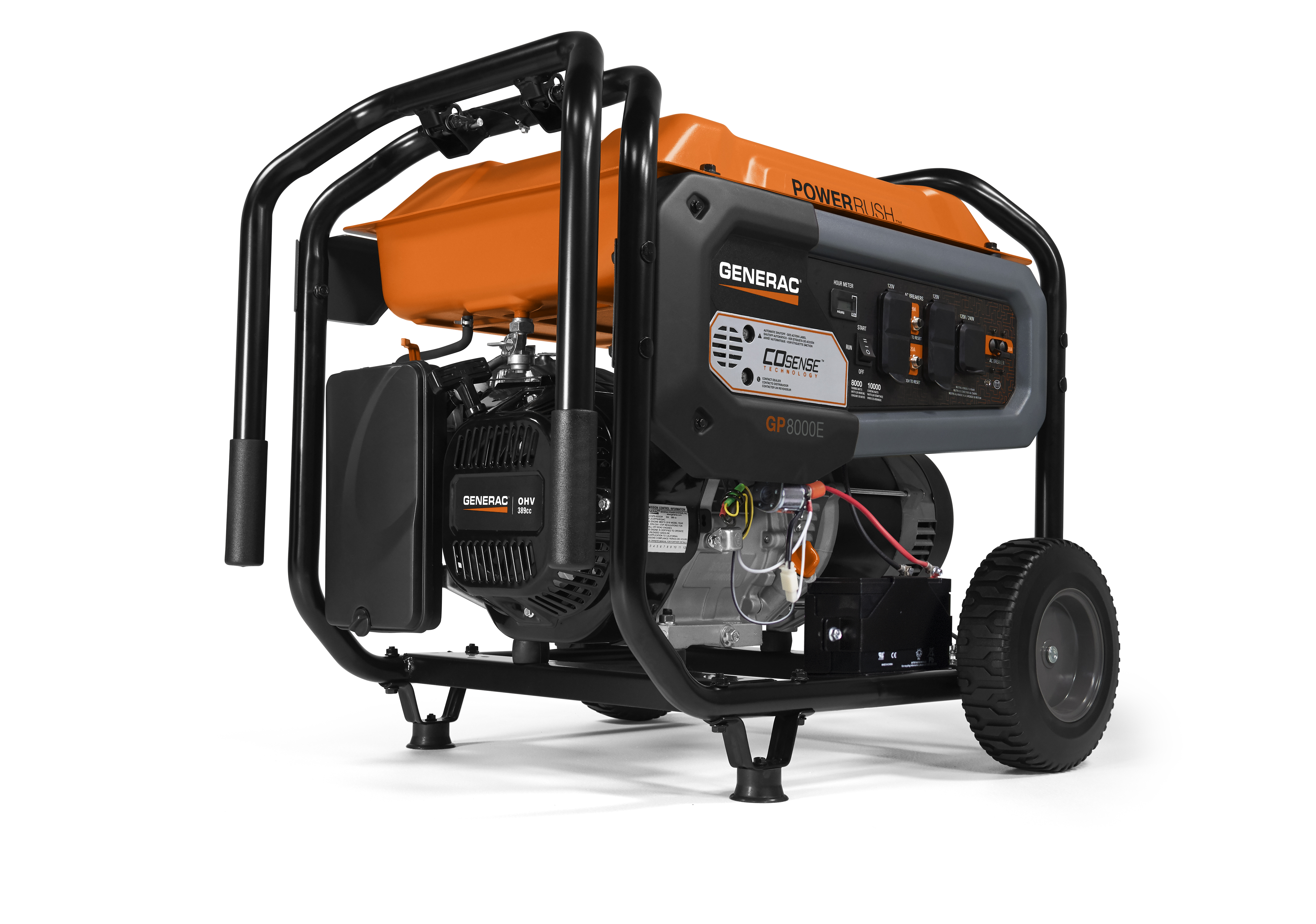 8000 Watt Generac Wiring Schematic Worksheet And Diagram 20kw Power Systems Gp Series Portable Generator With Rh Com Manuals Reliance Transfer Switch