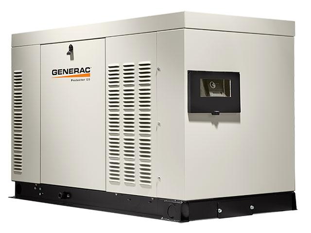 protector series 25kw gaseous generator generac industrial power protector series 25kw gaseous generator